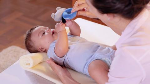 Estimulación visual temprana de tu bebé