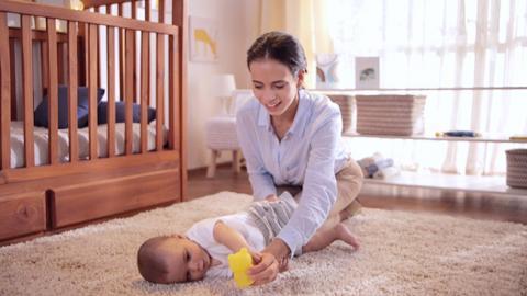 Estimulación muscular para bebés