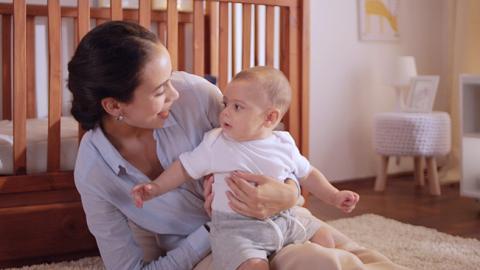Estimulación visual para bebés de 5 meses