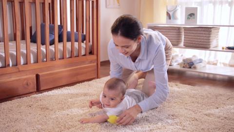 Estimulación para bebés de 6 meses