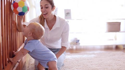 Juego de estimulación para bebés de 9 meses