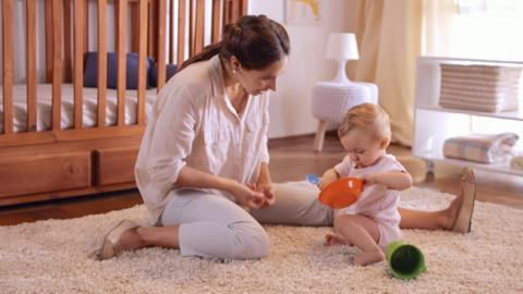Juego de coordinación para bebés de un año