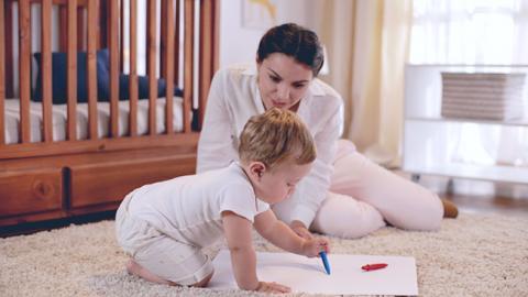 Ejercicio de coordinación para niños