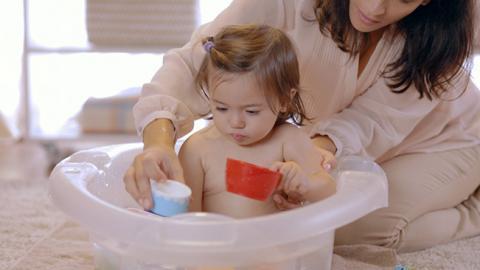 Actividad para el desarrollo de la percepción en bebés