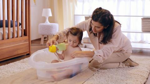 Actividad de estimulación multisensorial para bebés