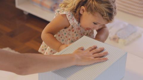 Actividad para la coordinación viso motora en bebés