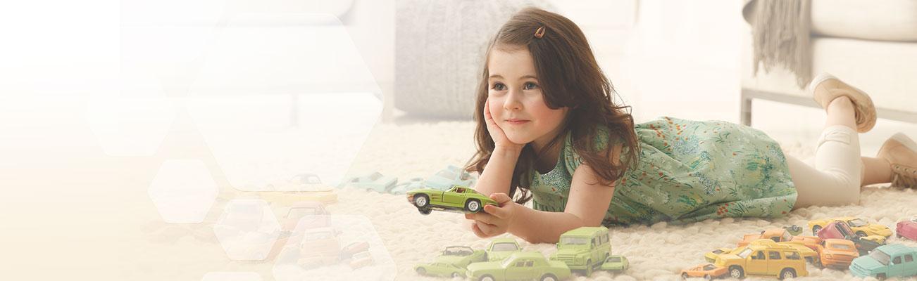 Desarrollo en niños de 2 a 3 años